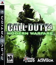 Call of Duty 4: Modern Warfare -- Platinum Edition (Sony PlayStation 3, 2010)...