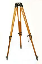 Antique surveyors tripod or theodolite stand, heavy duty