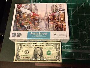 1000 Pieces Jigsaw Puzzle Paris Street Eiffel Tower Puzzle for Kids & Adult