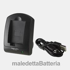 Carica Batteria USB compatto Digibuddy per Nikon Coolpix P530 P6000 P80 P90