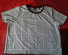 TOPSHOP CHECKED TOP..SIZE 14..NEW