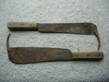 Sugar Beet Top Cutter Knife set, with Hook  TWO knives !!