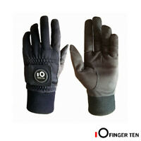Cold Winter Men Golf Gloves With Ball Marker Black Thermal Grip Ultimate Choose