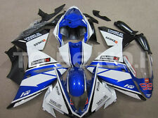 Fairing Kit for 2012-2014 Yamaha YZF R1 ABS White Blue Injection Molded Set m22