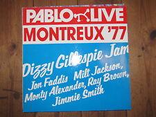 "LP - DIZZY GILLESPIE - JAM LIVE IN MONTREUX 77 ""TOPZUSTAND!"""