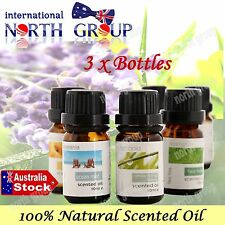 NATURAL CONCENTRATED AROMA ESSENTIAL OIL FRAGRANCE GIFT PACK  LAVENDER SCENT ETC