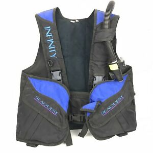 SeaQuest Infinity Vest BC Buoyancy Compensator Scuba Dive M/L Medium Large