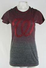 Washington Nationals MLB Touch Women's Studded Gradient Wash T-Shirt