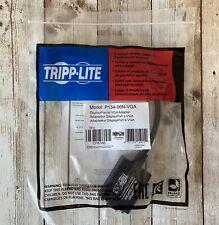 New Tripp-Lite P134-06N-VGA DISPLAYPORT/ DPORT 1.2 to VGA Adapter 1080P HD
