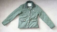 JACK WILLS GREEN QUILTED JACKET SIZE 8