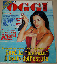 OGGI=2001/28=NATALIA ESTRADA=JACK LEMMON=PIANA DI FORNERO=MARINA RIPA DI MEANA=