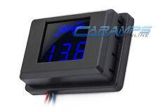 New Stinger Led 3 Digit Blue Car Stereo Volt Meter Voltage Display Monitor 12V