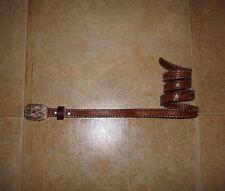 Dsquared² Runw. COWBOY RODEO Strass-Leather Cintura Belt L SS/06 415€,THE RAREST