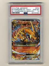 Pokemon PSA 10 GEM MINT M Charizard EX Mega Deck Wild Blaze Japan Flashfire Card
