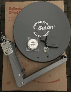 Kathrein CAS80 Satellitenanlage mit UAS585 LNB (4Teilnehmer) grau für UHD 4k neu