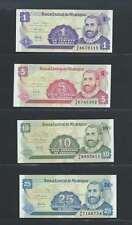 Nicaragua  Lot de 4 billets différents  en état NEUF Lot Numéro 2