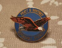 Rare Design Vintage Pratt Whitney USA Dependable Engines Pin Award