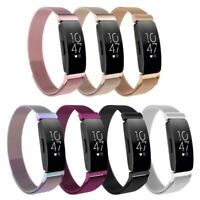 For Fitbit Inspire HR Stainless Steel Milanese Replacement Wrist Band