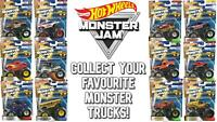 Hot Wheels Monster Jam Collectable - Monster Truck Collection (1:64 Scale)
