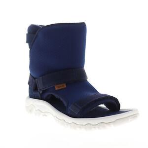 Teva Ugg Teva Collab Hybrid 1018220 Mens Blue Canvas High Top Casual Dress Boots