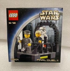 Lego Star Wars 7201 Final Duel II 2 Luke Skywalker, New Sealed Rare Vintage MISB