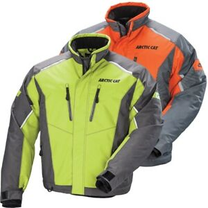Arctic Cat Men's Boss Cat Pro Flex Snowmobile Jacket - Green or Orange