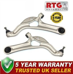 Pair of Front Lower Wishbones Control Arm For Renault Clio 197 RS200 16v 06-12