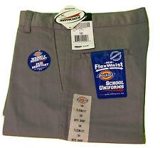 Dickies Shorts Flex~waist School Wear Color Gray. size 10H