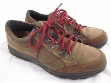 Men's ECCO Street Terrain Shoes Size EU 43 Brown Leather Hydromax US 9 / 9.5