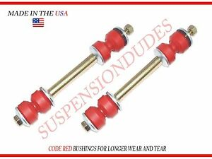 PAIR Sway Bar Links HIGH PERFORMANCE FOR CHEVY AND GMC Front Stabilizer K8987