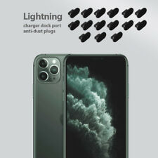 15 set pack iPhone 11 Pro Charging Port Cover Lightning Plug Anti Dust Cap