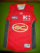 RARE Gold Coast Suns AFL XBlades Player Issue Guernsey Jersey GPS Pocket #23