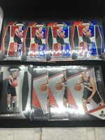 2017-18 Panini Prizm Zach Collins 8 Card Lot Red White Blue Base #144 RC Rookie