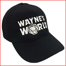 Wayne's World Embroidered Baseball Cap Hat