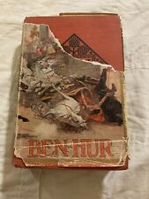 Antique Ben-Hur Book-1908-Wallace Memorial Edition Sold To Sears & Roebuck Co