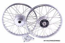 Front/rear wheels honda C50 C65 C70 Passport C90 C100 C102 C105 CM90 CM91 CD50