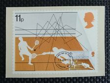 GB UK MK 1977 SQUASH MAXIMUMKARTE CARTE MAXIMUM CARD MC CM c5046