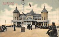 POSTCARD   SOMERSET   WESTON  SUPER  MARE   GRAND  PIER  PAVILION    Circa  1907