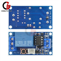 24V 1 Channel Latching Relay Module with Touch Bistable Switch MCU Control Line