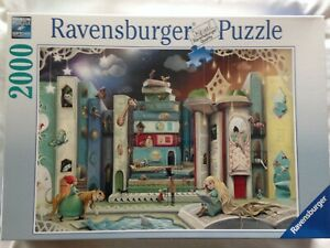 Brand New Ravensburger 2000 Piece Jigsaw Puzzle - NOVEL AVENUE