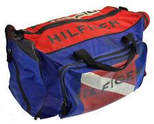 Tommy Hilfiger Duffle Bag Vintage 90s Colorblock Flag Gym Large DIVE CHARTER