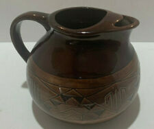 Pottery LARGE pitcher SP-RC-SD signed