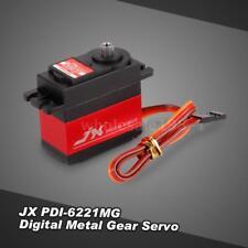 JX PDI-6221MG 4.8V-6V 0.16sec/60° Digital Servo 20.3kg Torque For RC Car T5Y1