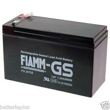 Fiamm | FGS FG20722 12V 7200mAh Faston 6,3mm MP7.2-12 Genesis NP7-12T  NP7-12L
