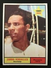 ZORRO  VERSALLES  1961 TOPPS  BASEBALL  #21