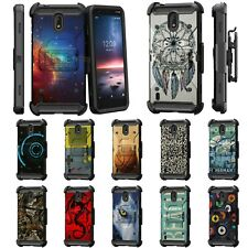 For Nokia 3.1C / Nokia 3.1A / 3.1 Full Body Armor Rugged Holster Belt Clip Case