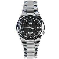 Seiko 5 Automatic Black Dial Silver Stainless Steel Mens Watch SNK623K1 RRP £169