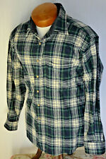 Pendleton Campbell Tartan Plaid Shirt Large Mens Vintage Wool Green Hunt Trail