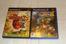 PlayStation 2 Jak And Daxter + Jak 2: Renegade Games - PS2