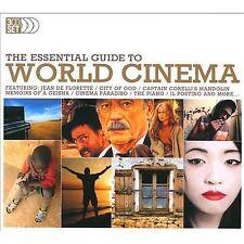 3 CD BOX ESSENTIAL GUIDE WORLD CINEMA CAPTAIN CORELLI MEMOIRS GEISHA THE PIANO